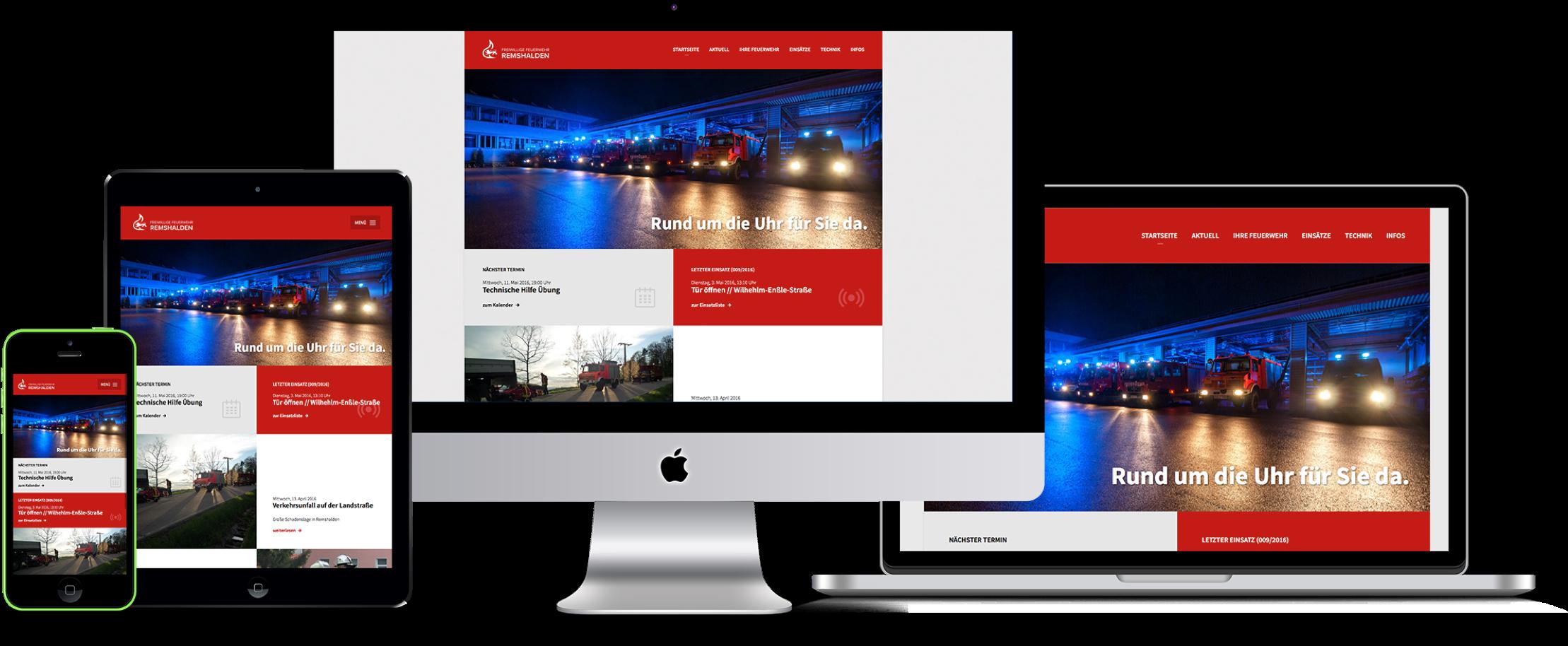 Mit unserer ausgefeilten responsiven Technik wird Deine Website auf allen Endgeräten optimal und ohne Inhalts- oder Qualitätsverlust dargestellt.